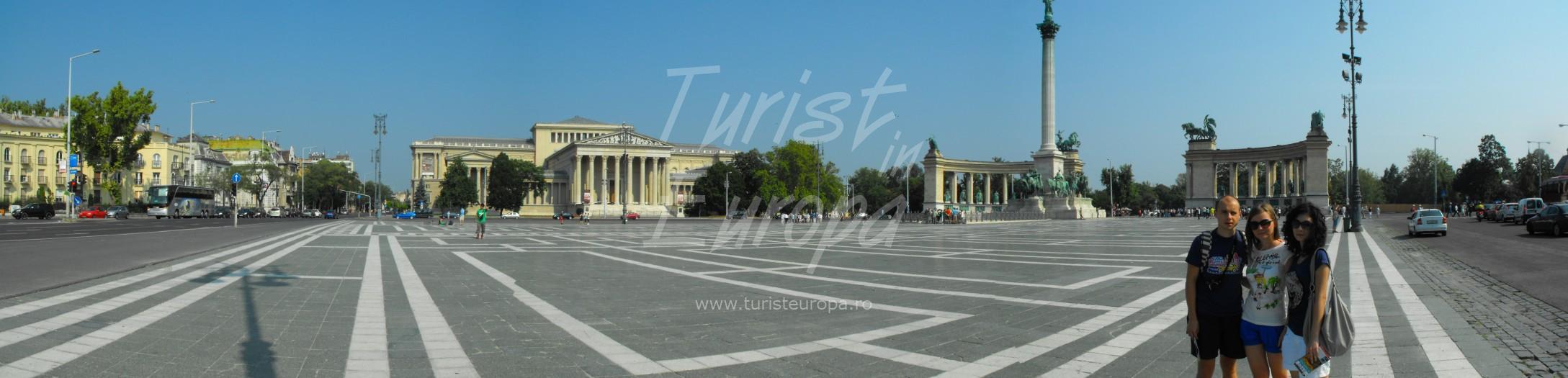 Budapesta, Ungaria - Piata Eroilor