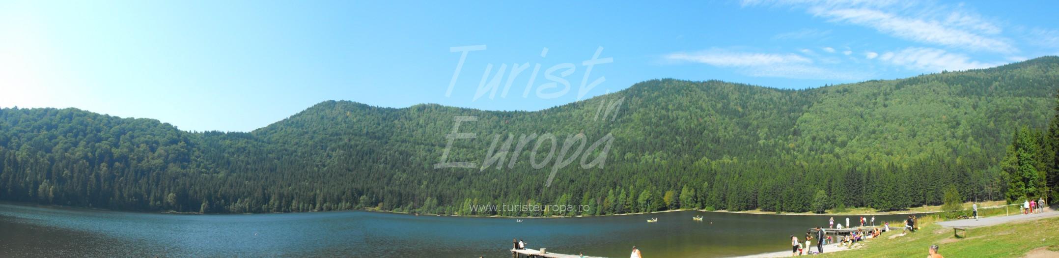 Tusnad, Romania - Panorama Lacul Sfanta Ana
