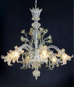Candelabru sticla de Murano