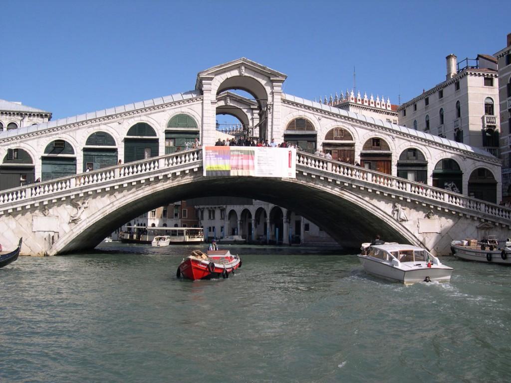 Podul Rialto Venetia