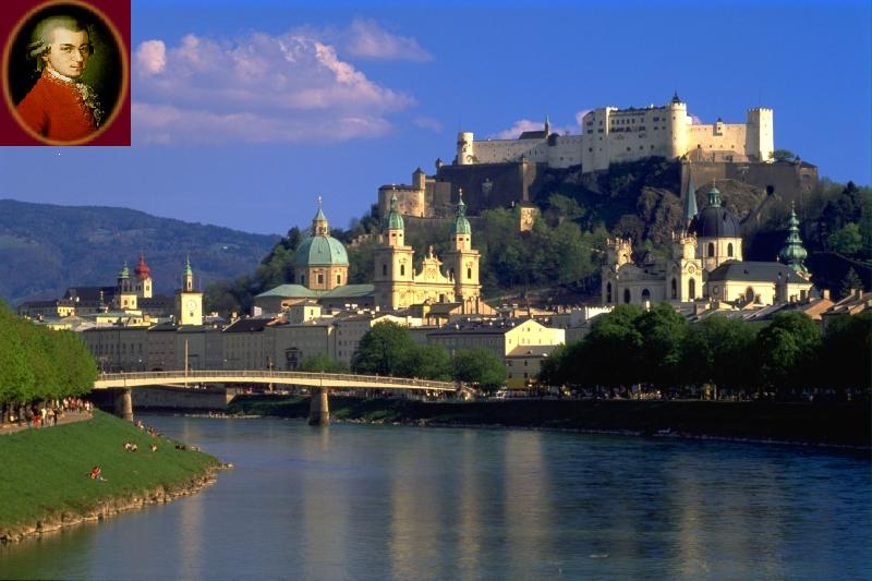 Salzburg Orasul lui Mozart
