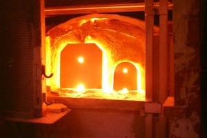 cuptor de sticla Murano