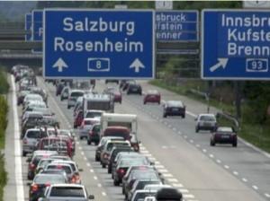 Autostrada Munich Salzburg