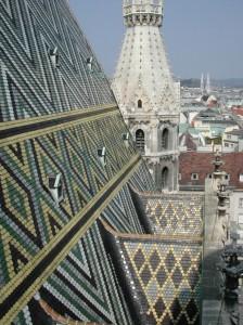 Catedrala Sf.Stefan Viena - acoperisul 2
