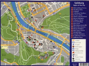 Harta Salzburg