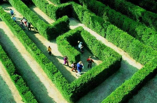 Imagini pentru Grădinile palatului Schonbrunn  Labirynt