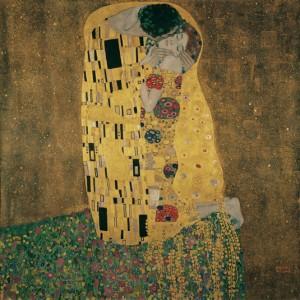 Sarutul Gustav Klimt Belvedere Austria