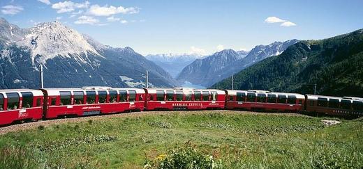 Tren spre Davos