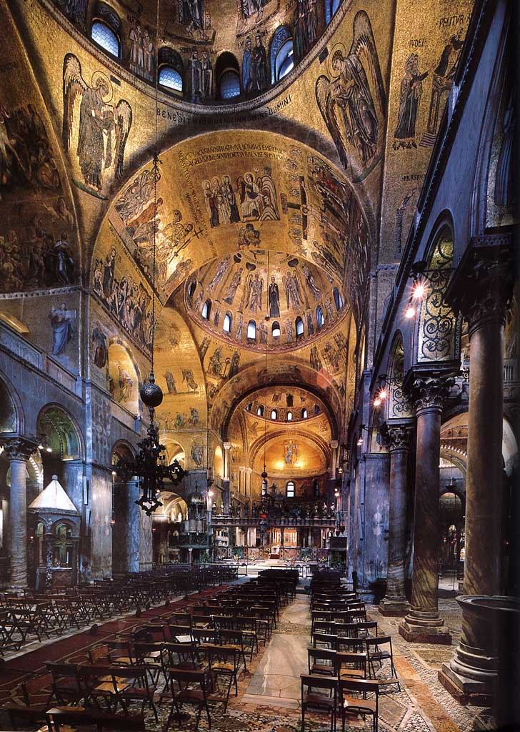 Basilica Sfantul Marcu interior mare