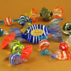 Bomboane din sticla de Murano