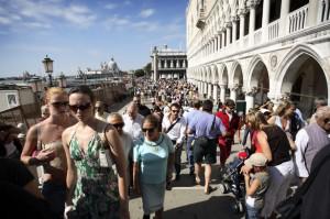 Turisti in Venetia