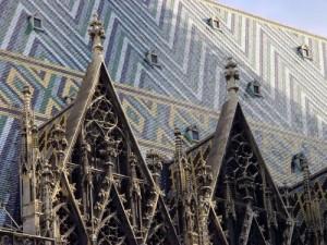 Catedrala Sf.Stefan Viena - acoperisul