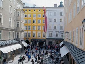 Locul de nastere al lui Mozart Salzburg 2