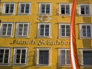 Locul de nastere al lui Mozart Salzburg