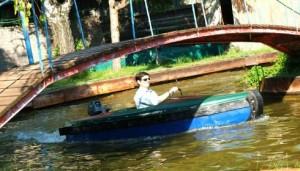Plimbare cu barca Prater