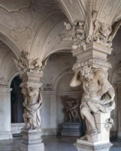 Sala Terrena Belvedere Palatul de sus