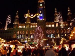 Targul de Craciun Rathaus Viena