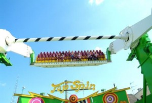 Top spin Prater