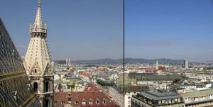 Vedere din Catedrala Sf. Stefan Viena
