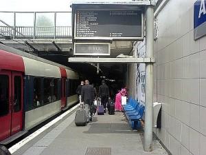 Trenul RER Paris